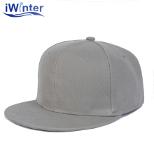 IWINTER 2018 Solid Snapback Cap For Men Women Unisex Solid Baseball Cap Adjustable Dad Caps Hip Hop Girls Flat Hat Sun Brand Hat(China)