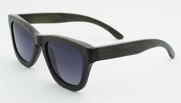 Hot Sale Black Bamboo Wooden Sunglasses Men UV400 Polarized Driving Fishing Sport Glasses Lunettes De Soleil Homme 6104<br><br>Aliexpress