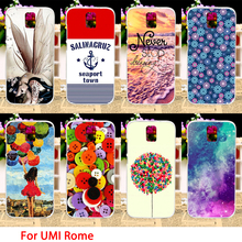 TAOYUNXI Soft TPU Phone Cases For UMI Rome UMI Rome X 5.5 inch Case Color Girl Sky Smartphone Covers Sheaths Skins Shields Hoods(China)