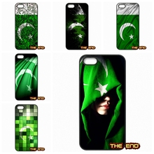 Retail Printed Pakistan flag art Cell Phone Case Cover Capa For iPhone 4 4S 5 5C SE 6 6S 7 Plus Galaxy J5 A5 A3 S5 S7 S6 Edge