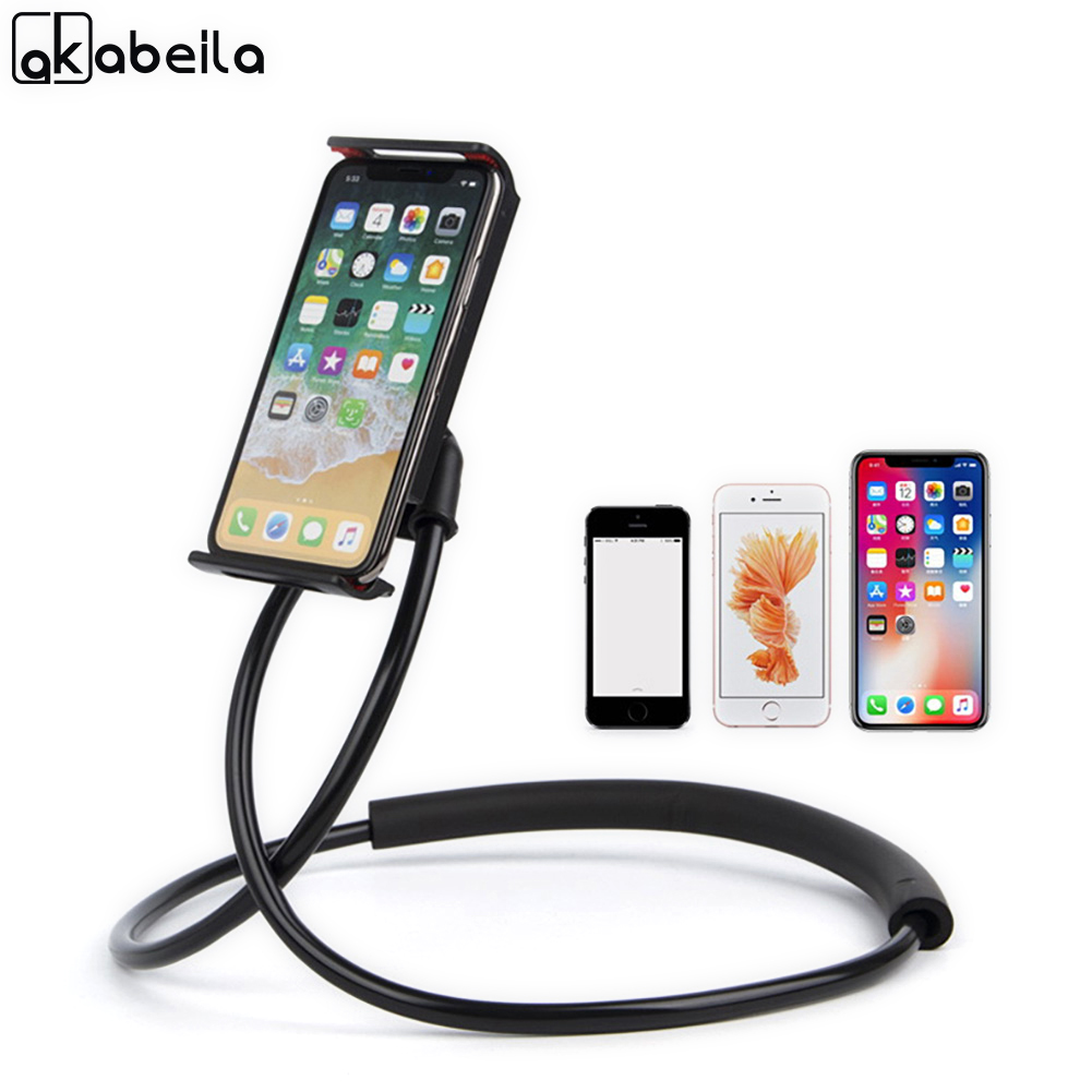Mobile Phone Holders & Stands Wrumava Universal Phone Holder Stand For Samsung Desk Tablet Pc Stands For Iphone Ipad Compatible Within 3.5~10.5 Inches Screen Cellphones & Telecommunications