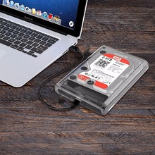 2.5 inch SATA HDD USB 3.1 USB-C / Type-C External Hard Drive Enclosure Storage Case(China)