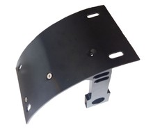 Motorcycle Vertical Side Mount Black License Plate Bracket For Harley Suzuki Honda Yamaha(China)