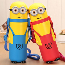 350ml Cute Genuine Despicable Me fantasia minions mug anime Thermos for kids termo portable travel coffee thermoses water bottle