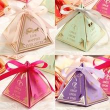 Коробочки для подарков треугольные