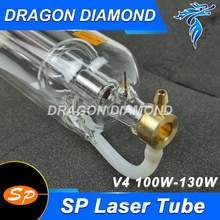SP 100w V4 CO2 Sealed Laser Tube for Laser Engraving Cutting Engraver Cutter Machine(China)