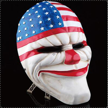 High-grade Resin Mask Harvest Day 2 Red Head Cosplay Halloween Party Day Mask Clockwork Men Festive & Party Supplies