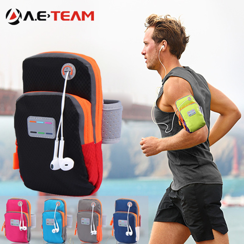 Aierwill 5.7inch Running Bag Arm Wrist Sport Band Mobile Phone Case Running Jogging WaterProof Gym Arm Outdoor B Holder Pouch(China (Mainland))