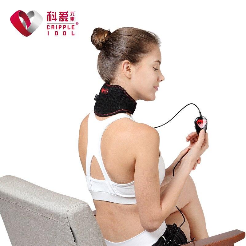 electric moxibustion, neck warming, hot compress for men, hot summer neck, cervical collar disease<br>