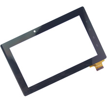 "7"" 300-N3690B-A00-V1.0 Black Color Touch Screen Glass Panel For Freeland PD10 PD20 300-N3690B"