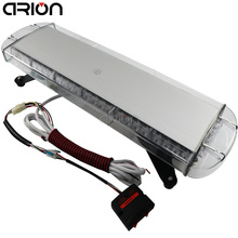 CIRION 12/24V 56W 56 LED Car Truck Vehicle Strobe Emergency Warning Flashing Light Bar Beacons Lights Lamp Red Blue Amber White(China)