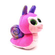 Buy TY Beanie Boos Big Eyes Scooter Snail Beanie Baby Plush Stuffed Doll Toy Collectible Soft Toys Big Eyes Plush Toys Children Gift for $3.96 in AliExpress store