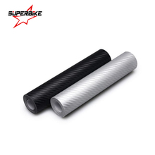 Car Sticker 3D Carbon Fiber 10cm*100cm Film Whole Body Decal Styling Waterproof Tape Vinyl Wrap Auto Motorcycle Bike Decoration