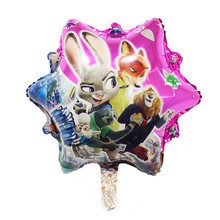 QGQYGAVJ free shipping new design Cartoon crazy animal City balloons inflatable toys wedding decoration wholesale