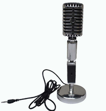 Free shipping Retro Vintage Style Broadcasting Microphone Podcast Chat Laptop Computer Mic