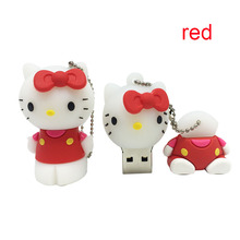Real capacityUSB Flash Drive memory 8GB USB 2.0 Flash Memory Stick lovely kt cat usb flash drive personality 4GB 8GB 16GB 32GB