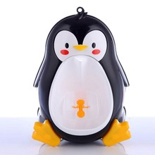 LeadingStar Cute Penguin Potty Training Urinal for Boys with Interesting Whirling Target Kids Removable Toilet zk30
