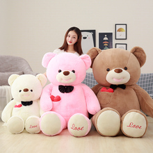 super cute new love Teddy bear pillow bear doll plush toys for children/55
