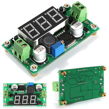 1pc Adjustable Power Step Down Module High Efficiency 150 kHz DC-DC LM 2596 Converter Buck Mayitr Voltage Regulator 2A 1.25V-37V
