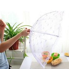 Food Covers Umbrella Style Anti Fly Mosquito Kitchen cooking Tools meal cover Hexagon gauze table food cover(China)