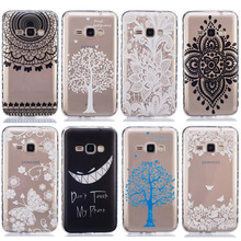 Cell Phone Case For Samsung Galaxy J1 2016 Cover J120 J120F J120H Duos SM-J120 SM-J120F/DS Soft TPU silicone Housing SCAH03