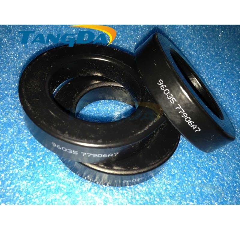 Tangda sendust FeSiAl KOOL MU toroidal cores 77906A7 77906-A7 OD*ID*HT 78*49*16 mm 125u Wave filtering Magnetic Materials<br>