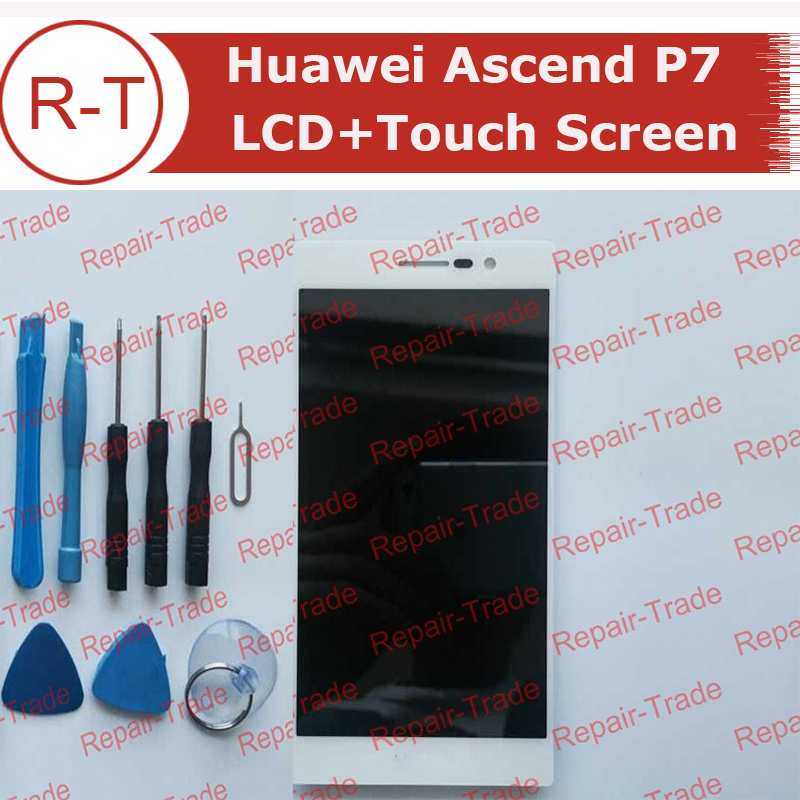 For Huawei Ascend P7 LCD Screen High Quality lcd display+ touch screen Replacement For Huawei Ascend P7 Smart Phone Free Ship<br><br>Aliexpress