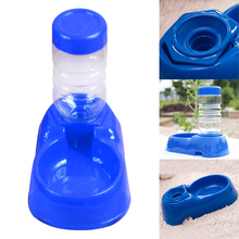 Dog's Pet Puppy Cat Automatic Water Bottles  Dispenser Food Dish Bowl Feeder For Dogs  V1NF