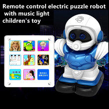 educational toy robot can music story dancing early childhood toys Intelligent smart remote control robot rc toys for kid gifts(China)