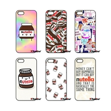 Chocolate Tumblr Nutella Pattern Collage Phone Case For Xiaomi Redmi Note 2 3 3S 4 Pro Mi3 Mi4i Mi4C Mi5S MAX iPod Touch 4 5 6(China)