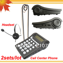 Call Center & Office Telephone Headset special phone headphone nice earphone for business 2pcs/lot DHL free shipping free