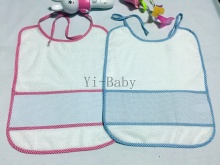 12PCS/Set YB16001 Free shipping Cross Stitch Bibs Baby Bibs Infant saliva towels Burp Cloths  Baby bib