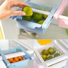 Multifunction Drawer Refrigerator Storage Box Rack Shelf Holder Slide Fridge Organizer Drawers Design Storage Kitchen Accessory(China)