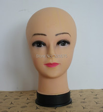 Female Mannequin head for Wigs /Hat displaying head model head mannequin without hair