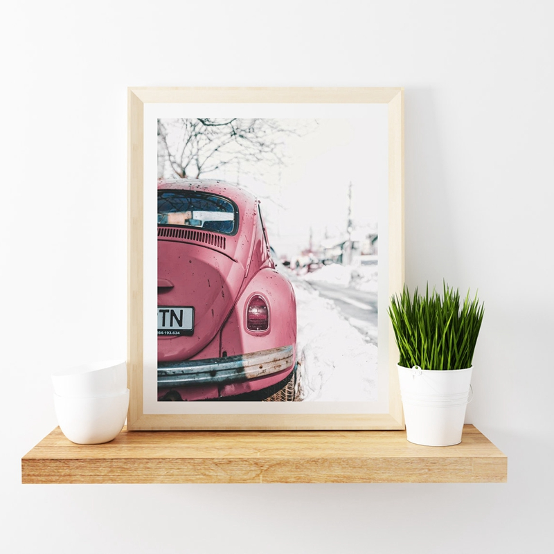 VW Beetle Poster-1