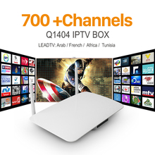 Android IPTV Box French Arabic IPTV Set Top Box VIP Sports Italy Germany European 700+ HD Abonnement Live TV French APK Included