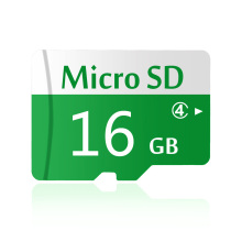 Quality 16GB Memory Card Micro SD Card 16 GB White-Green Bicolor TF Card Full Capacity Guaranteed 1 Year Warranty