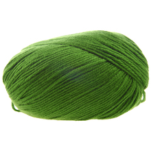 50g Tencel Bamboo Cotton Yarn For Baby (Grass Green)
