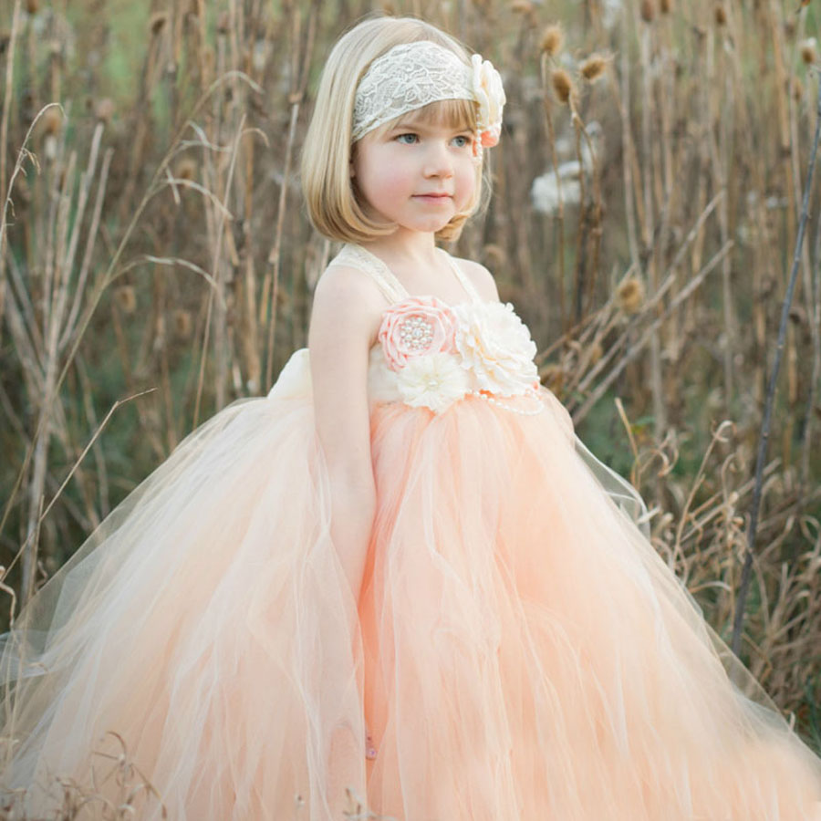 Princess Tutu Dress Flower Girl Tulle Dress Kids Birthday Party Wedding Bridesmaid Ball Gowns Photo Clothing TS082<br><br>Aliexpress