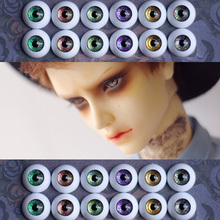 1Pair New!!  Doll Accessories Acrylic Doll Eyes 12MM 14MM 16MM BJD MSD Eyes For BJD Dolls