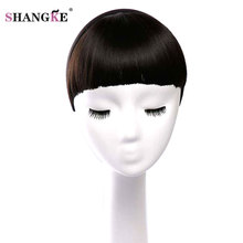 Buy SHANGKE Short Hair Bangs Heat Resistant Synthetic Hair Women Fake Hair Bangs Hair Fringe Hairstyles Women for $5.68 in AliExpress store