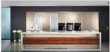 Lacquer high gloss Kitchen cabinet(LH-LA014)