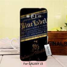 MaiYaCa Hot Printed Cool Black Phone Accessories For Samsung Galaxy J3 case Classic Whiskey Johnnie Walker Blue Label(China)