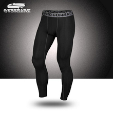 Men Sports Quick Dry Pants Gym Compression Pro Tights Trousers Leggings Train Joggers Basketball Running Fitness Pants