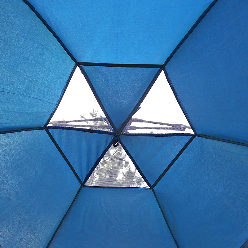 Outdoor Fishing Automatic Tent Camping Garden Picnic Set Hunting Roof Tent Tabernacle Beach Windbreak Fiberglass Pole (8)