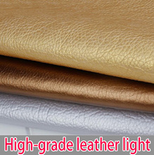 Upscale faux glitter leather fabric, width 140CM, the overall sale of cloth, one meter = 100 * 140CM(China)