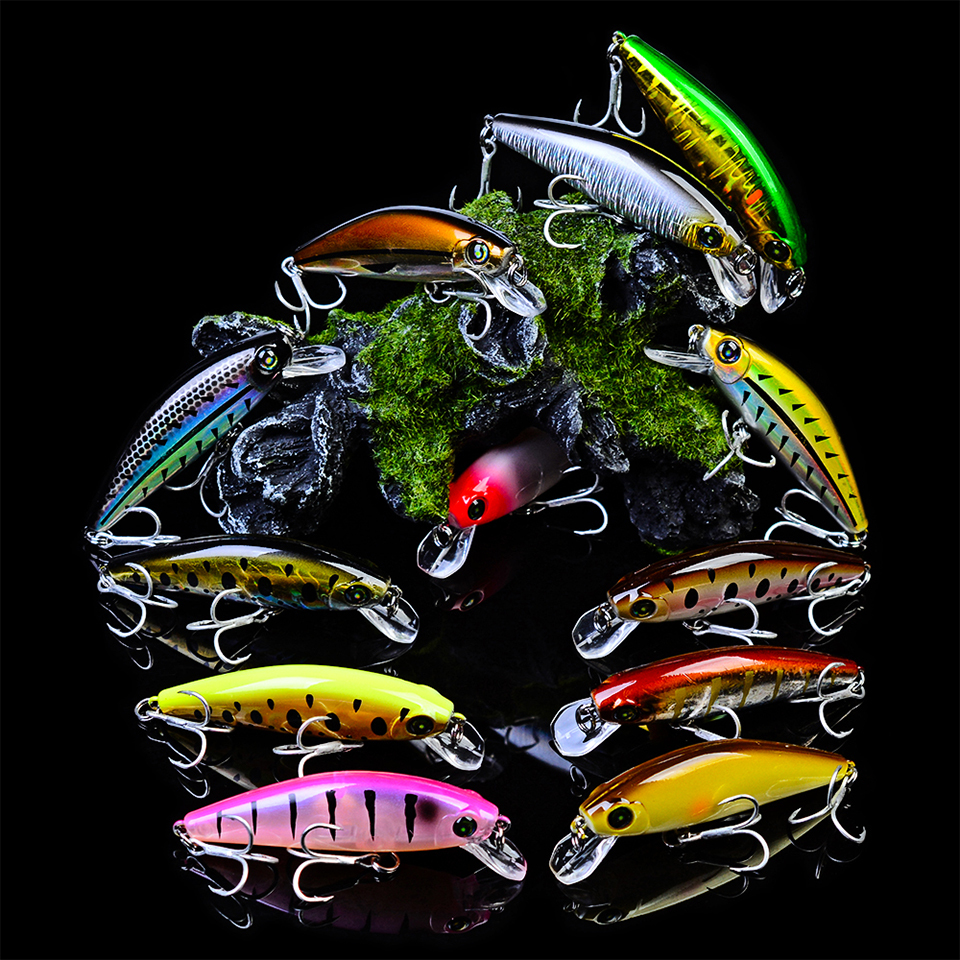 Fishing Tackle 10 Pcs//Lot Fishing Lure Silicone Lures For Fishing Soft Bait  HS1