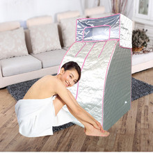 Home steam sauna box steam room fumigation machine weight Loss Steam Sauna bath sauna heater Free Shipping(China)