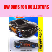 Hot Sale Alloy Mini Roadster Diecast Cars 2008 LANCER EVOLUTION For Collection Wholesale Metal Cars Hot Wheels 1:64(China)