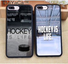 Buy MaiYaCa Hot Sport Ice Hockey Printed Soft Rubber Skin Phone Cases Coque iPhone 7 7 Plus 6 6S Plus 5 5S 5C SE 4S Cover Shell for $4.39 in AliExpress store